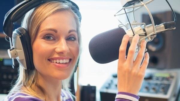 Mikrofon für ein Videokonferenz prüfen